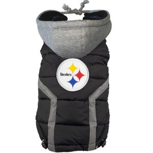 Pittsburgh Steelers NFL Dog Puffer Vest